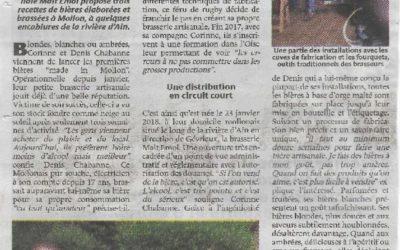 MALT EMOI DANS LE JOURNAL DE LA COTIERE